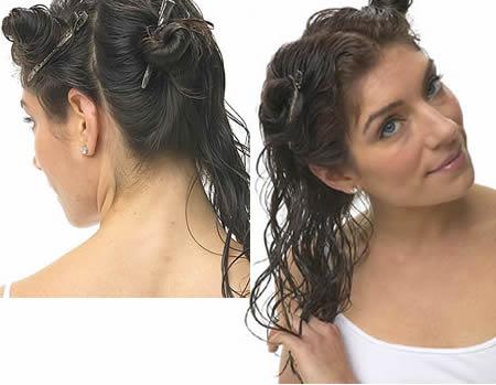Tombent fortement les cheveux chez les enfants