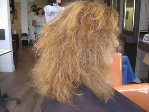 lissage bresilien a la keratine abime les cheveux