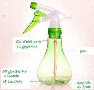 vaporisateur hydratant cheveux