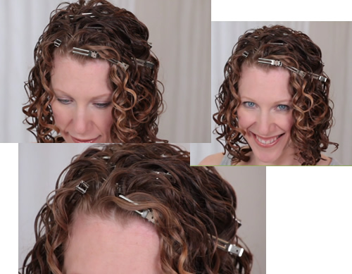 comment coiffer des cheveux ondulés