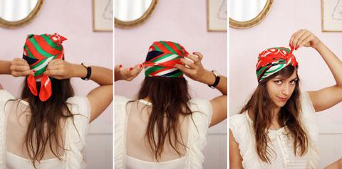Comment nouer un foulard dans ses cheveux fa on turban 5 possibilit s - Comment mettre un bandana homme ...