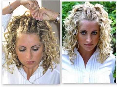 volume racine cheveux bouclés
