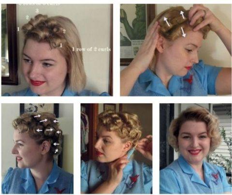 Tuto coiffure boucles marilyn monroe mise en pli
