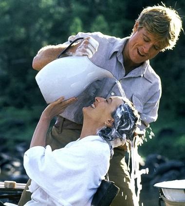 """Allez encore un p'tit effort Robert, la tête dans l'autre sens, et ce sera parfait ! (film: """"Out of Africa"""")"""