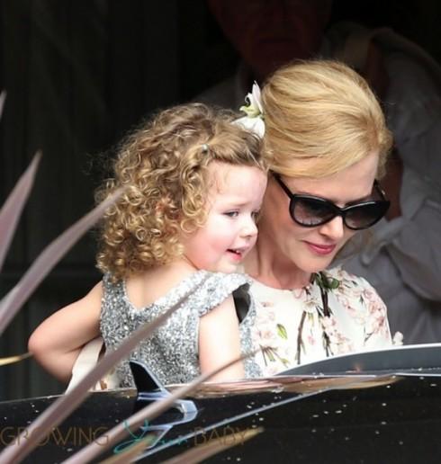 Nicole Kidman et son adorable petite dernière, Faith alias Boucle d'or !