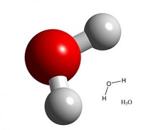 molecule eau et cheveux boucles