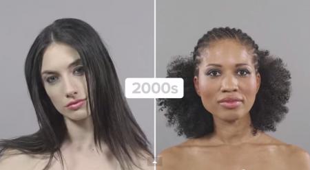 Coiffures annees 2000, cheveux afro et europeens