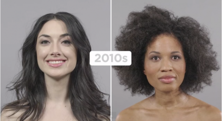 Tendances coiffures 2010, cheveux dégradés libres et naturels.