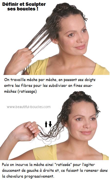 definir et sculpter ses boucles méthode de coiffage cheveux boucles frises