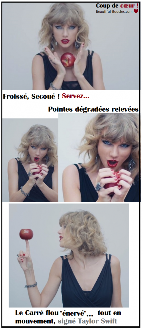 carre flou decoiffe ondule taylor swift - beautiful-boucles.com