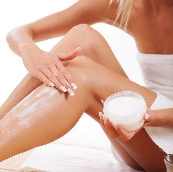 hydratation de la peau emollient hydratant