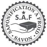 Le logo créé pour identifier les savons saponifiés à froid, pas toujours apposé malheureusement.