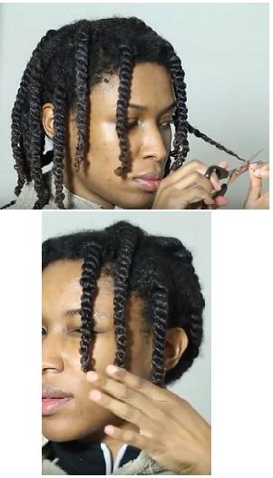 coiffer et couper toute seule ses cheveux cr pus les secrets d 39 une coupe afro d grad e r ussie. Black Bedroom Furniture Sets. Home Design Ideas