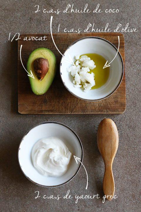 Masque Reparateur Cheveux Maison Oeufs Avocat Proteines Recettes