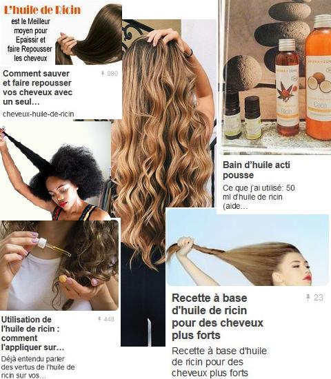 Les moyens actifs pour la croissance des cheveu