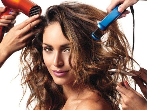 cheveux secs deshydrates chaleur