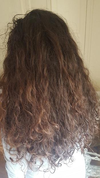 Cheveux qui ne bouclent plus à la racine