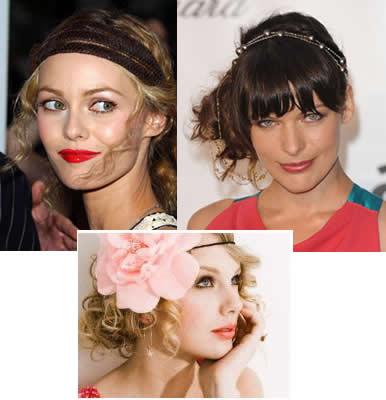 Cheveux boucl s comment porter un bandeau ou headband avec ses boucles - Comment porter le headband ...