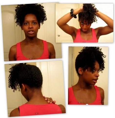 Cheveux boucles 2eme jour