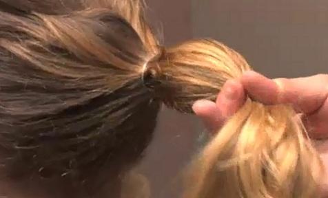 Tuto Coiffure Cheveux Boucles Mi Long Attache | Coiffures Cheveux Longs