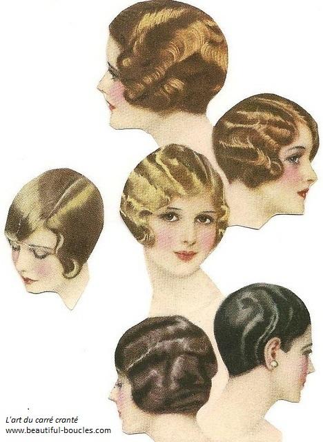 Coupe courte sur cheveux blond